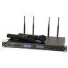 Dual Channel UHF Autoscan Diversity Wireless Microphone
