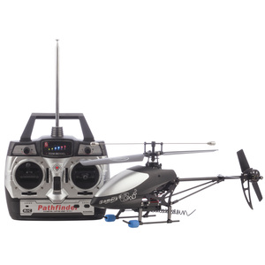 3 Channel Single Blade RC Helicopter with Video Recording