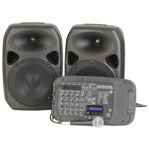 10 Portable PA System with 7-Channel Mixer