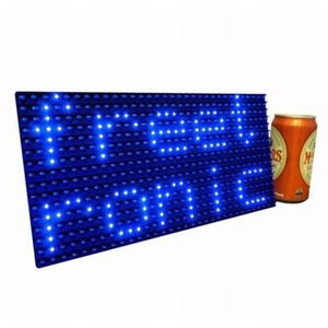 Large Dot Matrix LED Display Panel - Blue