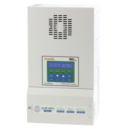 SunStar 80A Advanced MPPT Solar Charge Controller