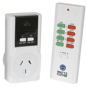Wireless Mains Remote and Single Outlet