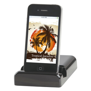 iPad®/iPhone®/iPod® Docking Station with Audio Out