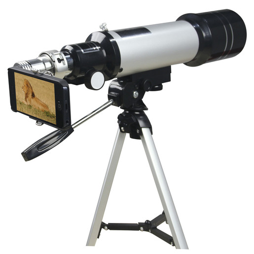50X Spotting Scope with Smartphone Viewing Attachment