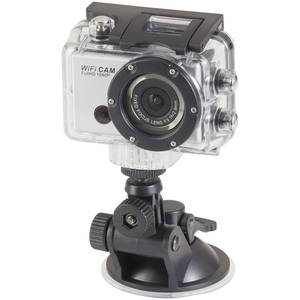 Wi-Fi 1080p HD Action Camera and Waterproof Case