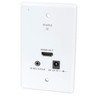 Wall Plate HDMI & IR Repeater CAT5e Extender