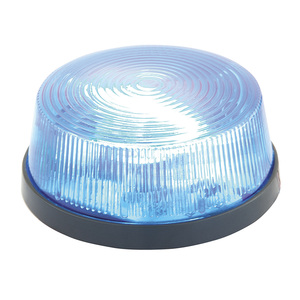 Blue Mini Alarm Strobe