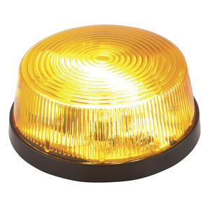 Amber Mini Strobe Light