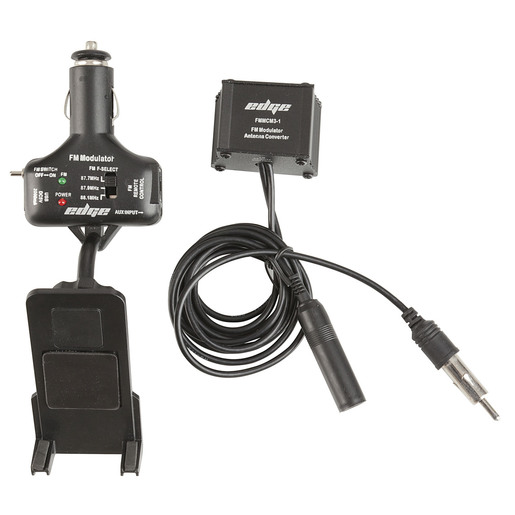 In-Car FM Transmitter Kit with in-line Antenna Connection