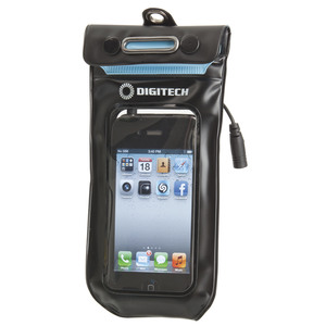 Waterproof Smartphone Pouch with Armband and Headphones