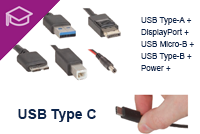 USB A to Type-C Armoured USB Cable