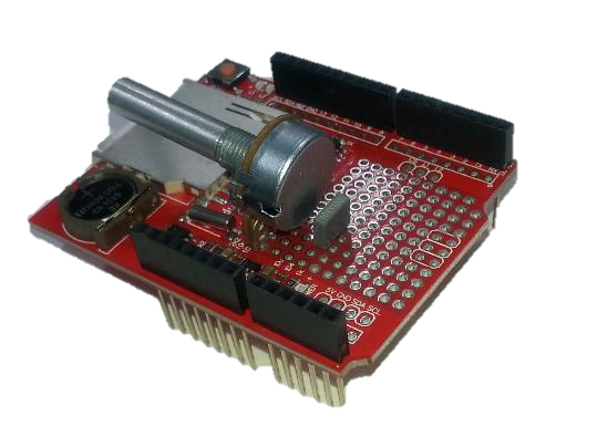 Mount Potentiometer and Capacitor